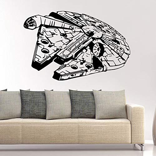 BLOUR Star Wars Wandaufkleber Raumschiff Wandaufkleber Studentenwohnheime Persönlichkeit Aufkleber Selbstklebende Aufkleber Sonderangebote