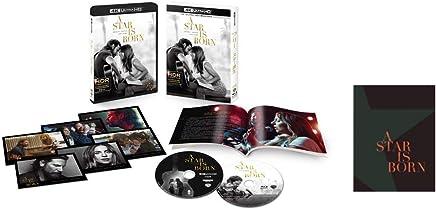 【Amazon.co.jp限定】アリー/スター誕生 4K ULTRA HD & ブルーレイセット (初回仕様/2枚組/ブックレット、特製ポストカードセット付)(レディー・ガガ独占インタビューDVD付) [Blu-ray]
