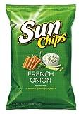Sunchips Multigrain Snacks, French Onion Bag, 7 Ounce (4-Pack)