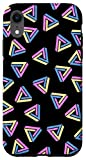 iPhone XR Optical Illusion Triangle Pattern Case