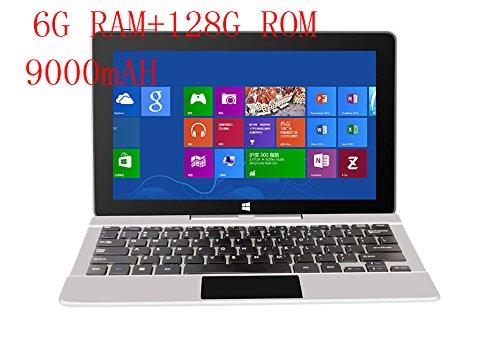 """Jumper EZpad 6s Pro 11.6 """"EZpad 6 Pro 2 in 1 Tablet 1080P IPS Apollo Lake N3450 6GB DDR3 64GB SSD + 64GB eMMC Tablet Windows 10 (Agregar Tastiera)"""