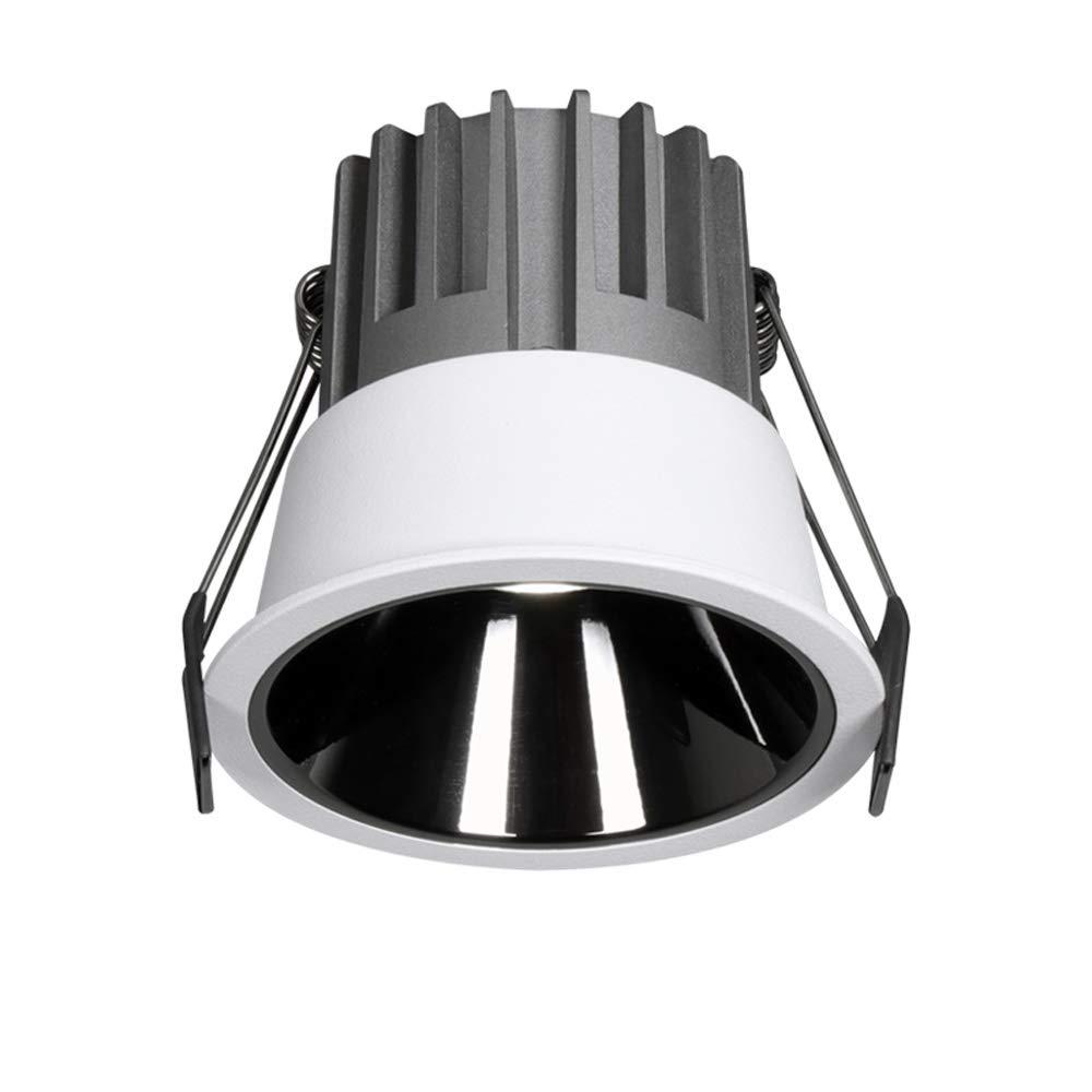 Sunny Lingt Ronda de panel LED Focos Focos, 5W 7W 9W IP44 contra incendios Valorados Lavar