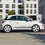HLLebw Auto Pegatinas de Calcomanías, para Opel Adam S Black Jack