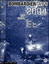 2004 BOMBARDIER ATV DS650, DS650 BAJA P/N 219 100 174 SHOP/SERVICE MANUAL (580)
