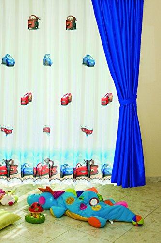 Schlaufenschal 145 x 245 cm Cars Walt Disney Lizenzprodukt Kinderzimmervorhang Autos [1 Stück]