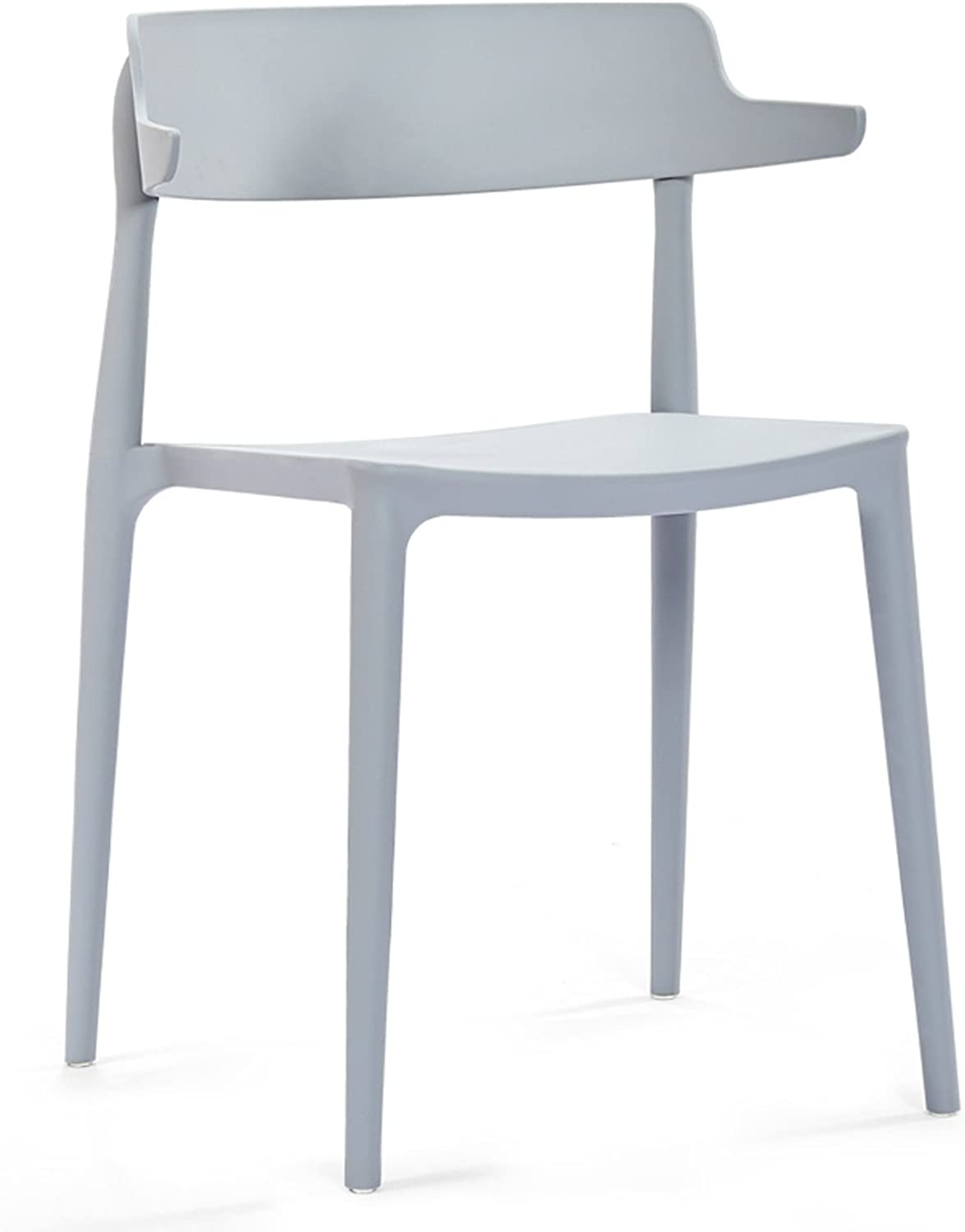 HZB European Modern Simple Home Plastic Chairs, Leisure Backrest Chairs, Creative Chairs, Fashionable Chair Stools