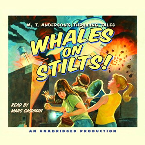 Whales on Stilts! audiobook cover art
