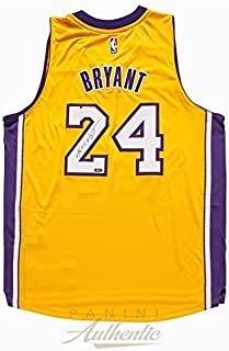 ee631257538 Kobe Bryant Autographed 2014 Adidas Gold Lakers Swingman Jersey ~Open  Edition Item~