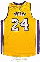 Kobe Bryant Autographed Gold Adidas Lakers Swingman Jersey ~Open Edition Item~