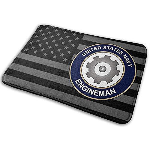 Liumt US Navy Engineman deurmat antislip badmat badkamer keuken vloertapijt mat
