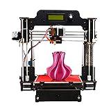 GEEETECH 3D Drucker Prusa I3 W Diy Kit, Stabilen Vollmetall-Rahmen, geeignet für 1,75 mm PLA/ABS/TPU/PETG Filamente