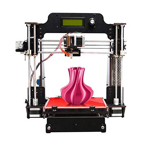 GEEETECH Imprimante 3D Prusa I3 W Diy Kit, cadre solide en métal, convient pour les filaments PLA/ABS/TPU/PETG 1,75 mm