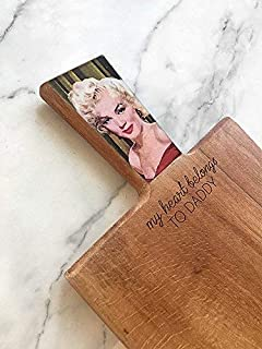 Marilyn Monroe Board, Fathers Day Gift, Funny Cutting Board, Marilyn Monroe Gift, Funny Dad Gift, Cook Dad Gift, Unique Kitchen Gift, Father