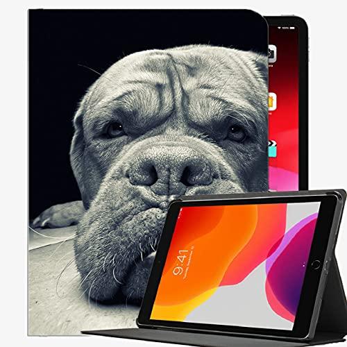 Caja Inteligente para el iPad Air 2, Huzzle Perro Perro Agresión Agresión Caso Delgado Cubierta de cáscara para iPad Air2 9.7 Pulgadas