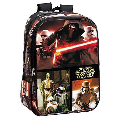 Star Wars 43 cm VII La Force réveille Epic Kylo Ren/Stormtrooper et droïdes cm Sac à Dos (L, Noir)