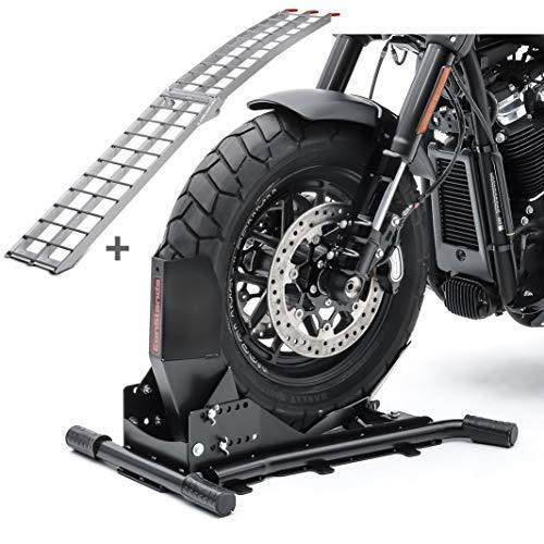 Set Motorradwippe Constands Easy Vario + Auffahrrampe Alu II SW3