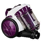 Limpiador Sin Bolsa Hausberg Hb-2010 Multi Ciclón Vacío, Limpiador, 700W, 79Db, Blanco/Magenta, 3L