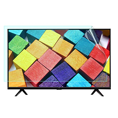 GFSD 32-75 Inch Anti Blue Light Screen Protector for TV, Protect Eyes Anti-Scratch PET Blue Light Filter Screen Protector Film (Color : Matte version, Size : 52 inch 1161 * 661mm)