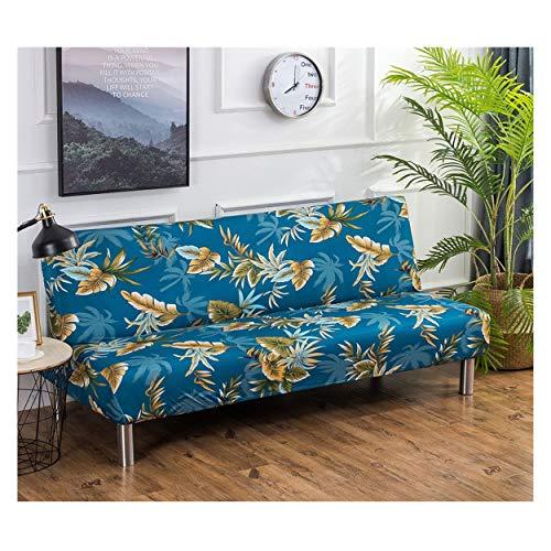 Cornasee Funda de Clic-clac elástica, Cubre/Protector sofá de 3 plazas,impresión Floral,K