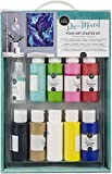 American Crafts Color Pour Pre-Mixed Pouring Art Starter Kit - Arts and Painting...