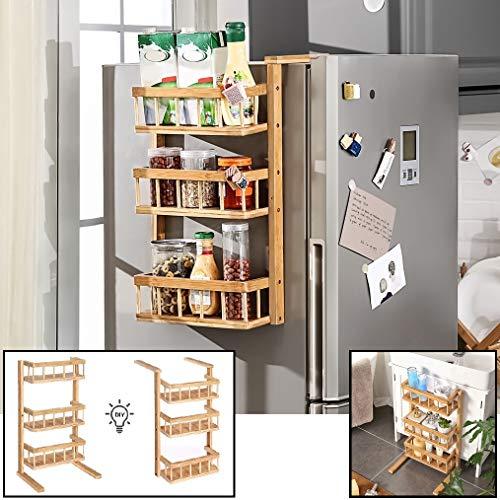 Multifunktionsregal - Kann stehend und hängend verwendet werden - Als Küchen- / Badregal - Hängend an einem (Kühlschrank-) Schrank oder stehend auf dem Boden - Decopatent