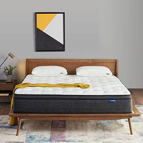 Find Discount Sweetnight Full Size Mattress in a Box - 12 Inch Full Mattress, Plush Pillow Top Hybri...