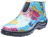 Sloggers  Women's Waterproof Rain and Garden Ankle Boots with Comfort Insole,  Midsummer Blue, Size...