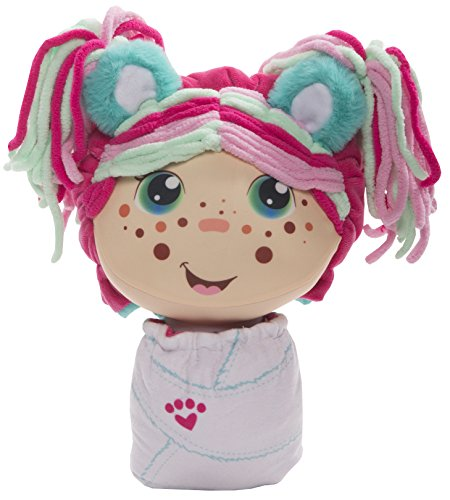 Flip Zee Girls Zoey Snuggly Bear Sweet and Cuddly 2-in-1 Plush Doll