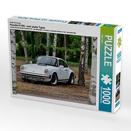 CALVENDO Puzzle Porsche 911SC - Zwei Starke Typen 1000 Teile Lege-Größe 64 x 48 cm Foto-Puzzle Bild von Ingo Laue