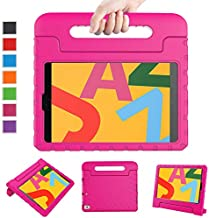 LTROP Case for New iPad 10.2 2019 - iPad 7th Generation Case, iPad 7th Gen 10.2-inch Shock Proof Light Weight Handle Stand Kids Case for Apple iPad 10.2