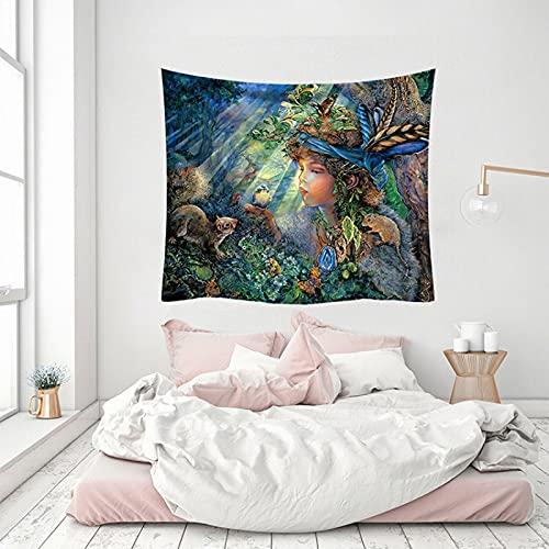 NHhuai Wandteppich Tapestry Wanddeko...