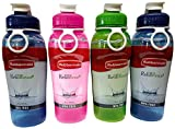 Rubbermaid Refill, Reuse 32-Ounce Jumbo Size Chug Bottle, Assorted Colors, Pack of 4