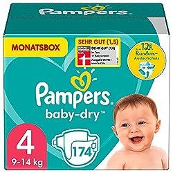 Pampers: Baby- und Kinderwindeln in verschiedenen Größen