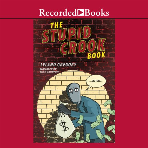 The Stupid Crook Book audiobook cover art