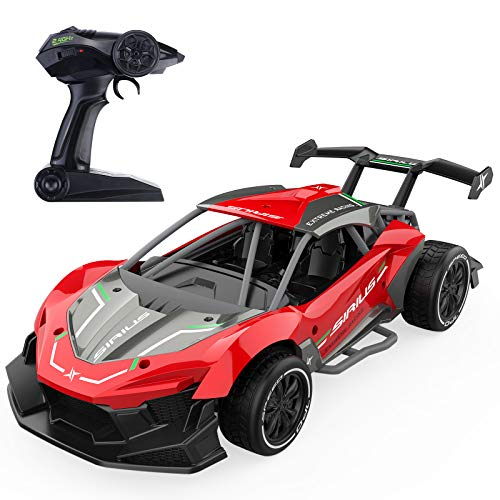 RC Cars for Kids, EACHINE EC06 RC Drift Sports Racing Car Alloy 1/14 Scale Hight Speed Radio Fast 22+ Km/h Electric...