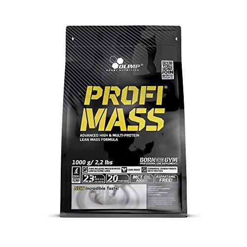 Olimp Sport Nutrition Profi Mass Zip Bag Ganador de Masa Muscular, Sabor Chocolate - 1000 gr