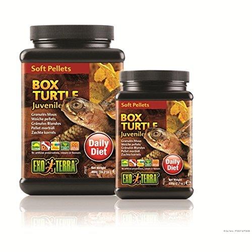 Exo Terra PT3224 Soft Pellets Adult Box Turtle Food, 18 oz
