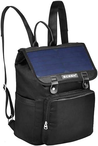 Lisi Chargeur Solaire Sac à Dos Affaires sac Sac à Dos étanche avec Charge USB Multifonction Sac à Dos pour Ordinateur portable Sac à Dos en Plein air
