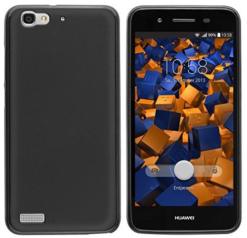mumbi Hülle kompatibel mit Huawei GR3 Handy Hülle Handyhülle, schwarz