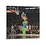 GUOJING Aaron Gordon Dunk Poster Posters Wall Art Painting Canvas Gift Living Room Prints Bedroom Decor Poster Artworks 12×12inch(30×30cm)