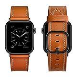 Aottom Reloj Compatible con Correa Apple Watch SE 44mm Cuero