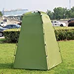 Explopur Camping Tent for Camping Biking Toilet Shower Beach 10
