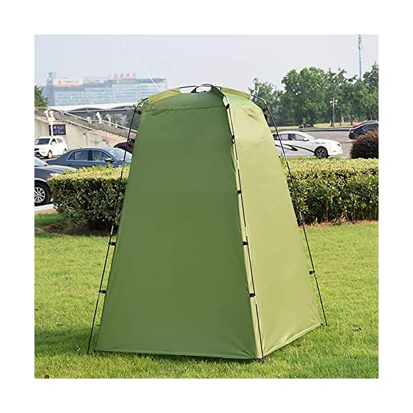 Explopur Camping Tent for Camping Biking Toilet Shower Beach 1