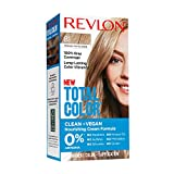 Revlon Total Color Permanent Hair Color, Clean and Vegan, 100% Gray Coverage Hair Dye, 81 Medium Ash Blonde, 3.5 oz
