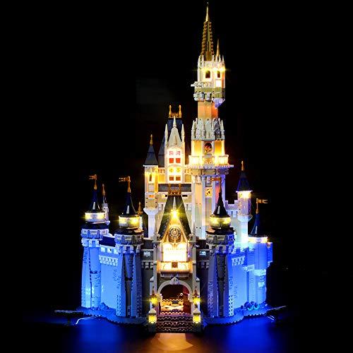 LIGHTAILING Licht-Set Für (Creator Das Disney Schloss) Modell - LED Licht-Set Ko...