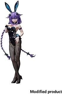 Hyperdimension Neptunia: Purple Heart (Bunny Version) PVC Figure Toy High 43CM(16.9Inches)