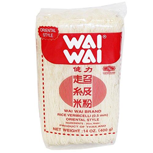 30x400g Wai Wai Reisnudeln Oriental Style dünne Rice Vermicelli