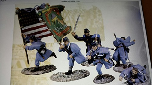 "William Britain Collectors Club Model 17017 by ERTL - Metal Toy Soldier - American Civil War - The Art of War Series - ""Clear the Way"", Collectible Figures, 1/32nd Scale - 54mm"