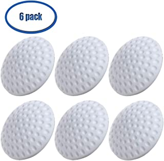 MAGLONG 6 Pack Silicone Door Knob Wall Protector, More Resilient Door Handle Bumper, Thicker Door Guard Shield, Enhanced Self Adhesive, Environmental Non-Toxic, Protect Family Health (White)