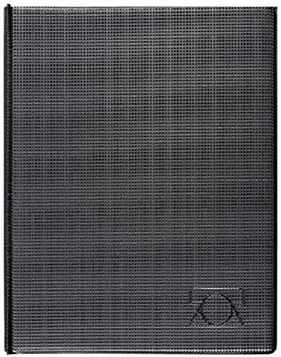 BRUNNEN 1064345 Telefonringbuch/-mappe (strapazierfähige Folie, 177 x 226 mm) schwarz